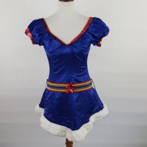 Leg Avenue Starburst Girl Rainbow Adult costume